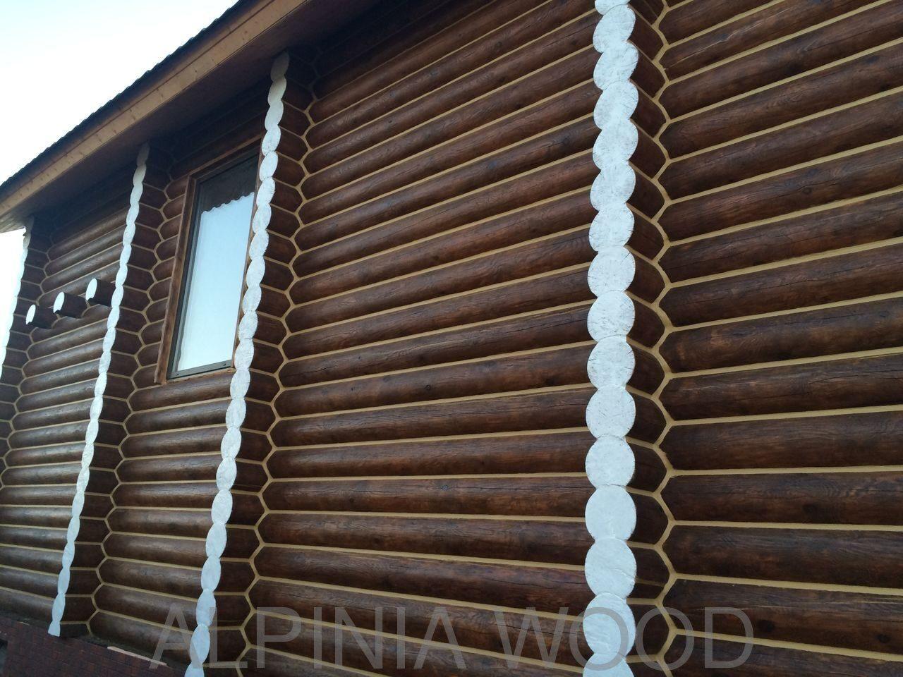 Герметизация швов между бревнами в деревянном доме